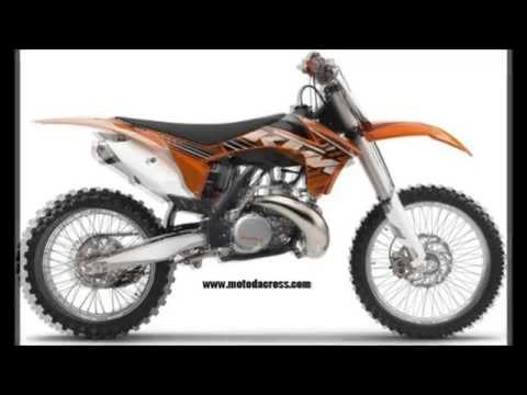 Evolution of KTM sx-250 from 1973 to 2015.