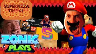 Super Pizza Time 64 - Super Mario 64   Zonic Plays