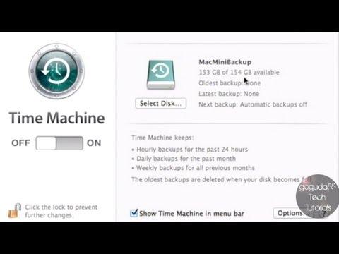 time machine network drive