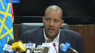 Minister Getachew Reda - Press briefing on current Ethiopian situation jul,15,2016