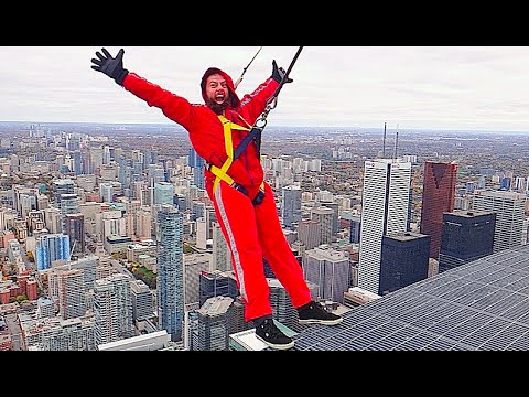 HANGING OFF THE TALLEST BUILDING IN CANADA!