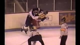 Jason Spence vs. Jason Hamilton QMJHL 28/12/97