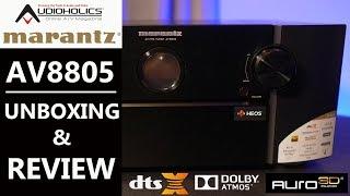 Marantz AV8805 13.2CH AV Processor Review