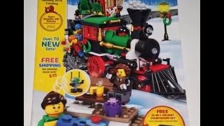 Lego Holiday 2016 Catalog Video Review Complete