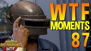 PUBG WTF Funny Moments Highlights Ep 87 (playerunknown's battlegrounds Plays)
