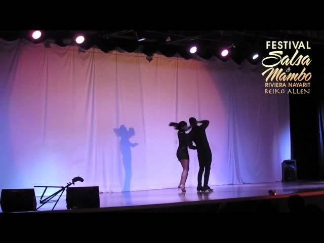 Edmundo & Mariana - Riviera Nayarit Salsa & Mambo Festival 2013