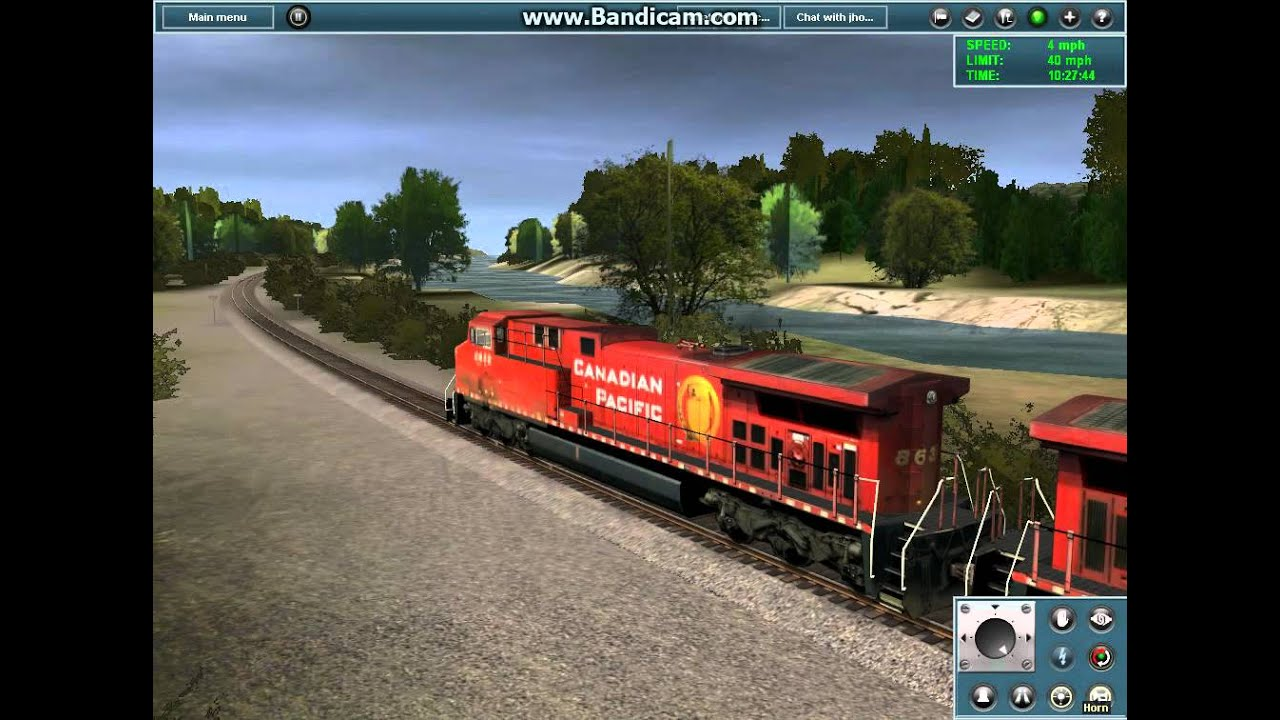 Trainz Simulator 12 - CP AC4400CW Start Up with Amazing ...