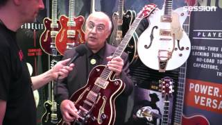 NAMM 2017: Gretsch Players Edition Gitarren
