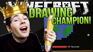 DRAWING CHAMPION   Minecraft: Draw My Thing Minigame!