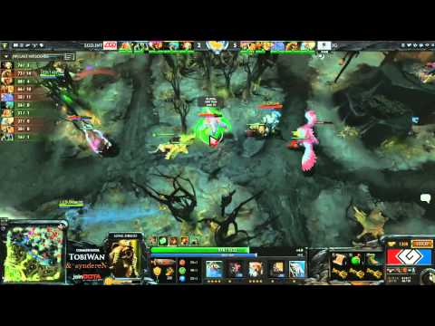 LGD.INT vs Invictus Gaming Game 3 - G League DOTA2 Finals - TobiWan