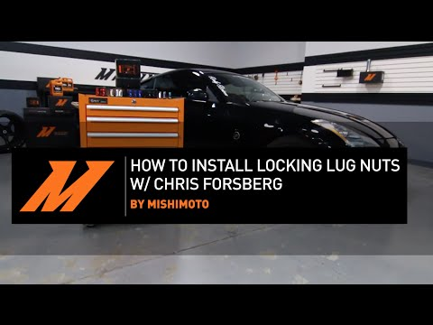 Do-It-Yourself. How To Install Locking Lug Nuts w/ Chris Forsberg By Mishimoto