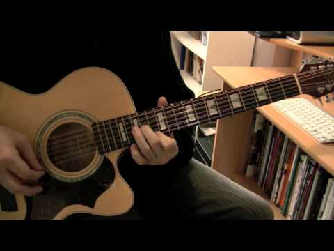 Bon Jovi - Wanted Dead Or Alive (Takamine 12-string & Axe-FX Ultra)