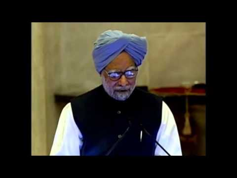 PM's address at conferment of Indira Gandhi Prize on Prez Sirleaf of Liberia