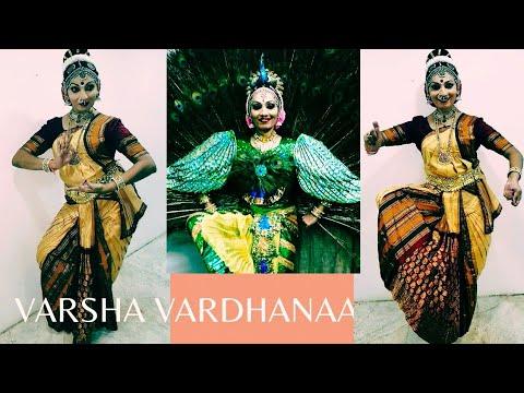 Bharat Natyam Dance Performance By Varsha at International Yoga and Music Festival