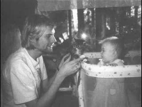 Kurt and Frances Bean Cobain (All Apologies)
