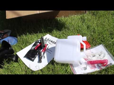 Ханкай 6 обзор от распаковки до замены масла и первого запуска!
