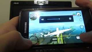 Обзор Геймплей Android GTA San Andreas Gameplay on Samsung Galaxy  S2 I9100 MAX GRAPHIC