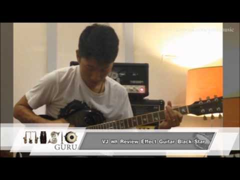 MUSIC GURU : (พล Clash) Review Effect Guitar Black Star