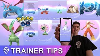 EVOLVING EVERY NEW GEN 3 POKÉMON IN POKÉMON GO