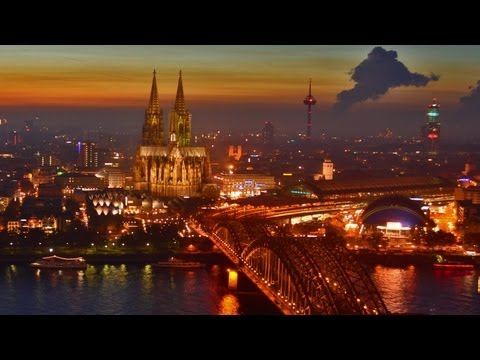 Kln / cologne in motion. Timelapse Kln