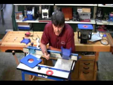 Woodcraft kreg router table