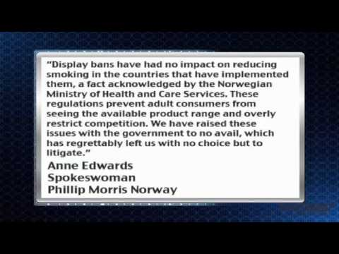 News Update: Phillip Morris (NYSE: PM) to Sue Norway over Tobacco Display Ban
