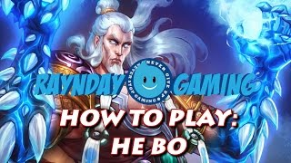 How To Play He Bo: 1-HIT K.O. Build, Combo Guide and Gameplay! (SMITE) - Season 3
