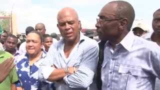VIDEO: Haiti - Martelly ak KP Vizite Warf Jeremie ak Batiman CIMO