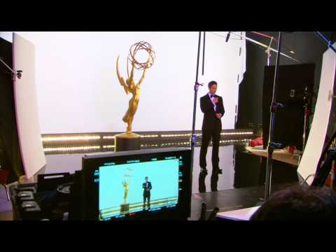 The 66th Primetime Emmy Awards: Behind the Scenes of Seth Meyers Photo Shoot