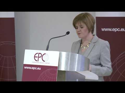 Full speech: Nicola Sturgeon on Scotland's EU membership