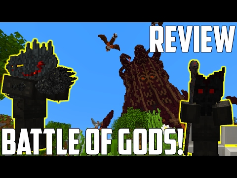 Must Play PvP Game - Battle of Gods Map Review [Minecraft]