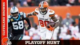 Nate Burleson 'The Browns Are in the Playoff Hunt' | Cleveland Browns