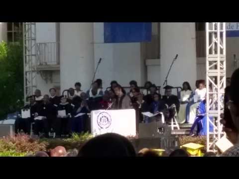 The Dillard Commencement Address