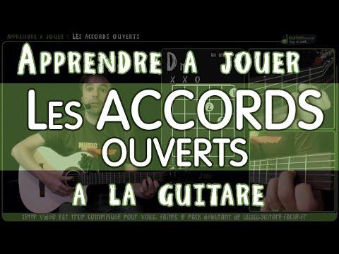Apprendre à jouer les accords ouverts - guitare - MULTICAM