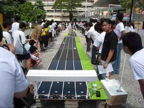 National Junior Solar Sprint Competition 2009