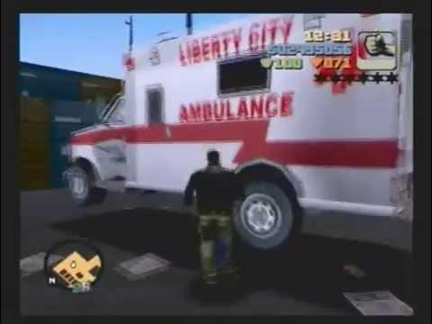 Grand Theft Auto 3 - Part 71: Emergency Vehicle Crane