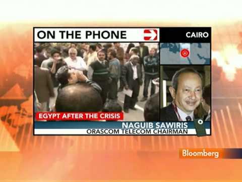 Sawiris Says Failure to Open Egypt Bourse `Unwarranted'