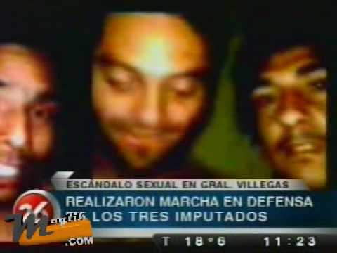 video del abuso de menor de 14 años en general villegas - Marcha a favor