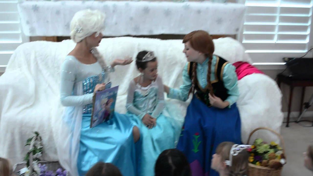 avery u0026 39 s frozen coronation birthday party 2014