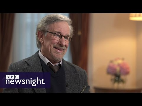 'It's a bloody good story': Steven Spielberg on Bridge of Spies - Newsnight