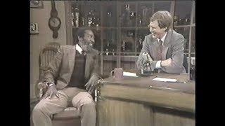 Dick Gregory on Letterman, March 1, 1984