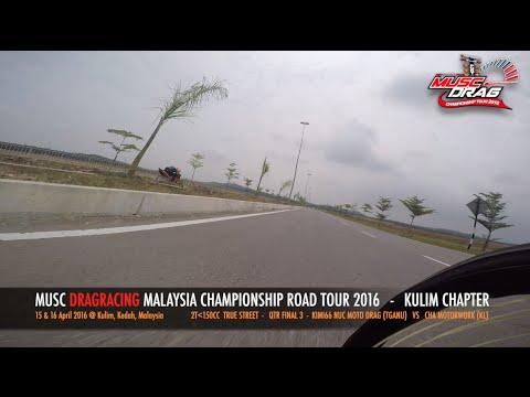 GoPro On Board 1 - Musc Drag Racing Kulim 2016
