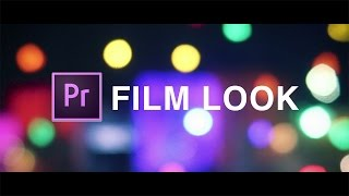 How to Achieve a Cinematic Film Look with WideScreen Bars in Adobe Premiere Pro (CC 2017 Tutorial)