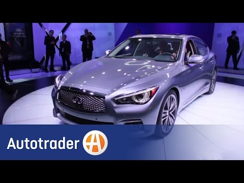 2014 Infiniti Q50 - Luxury Sedan | 2013 Detroit Auto Show | AutoTrader