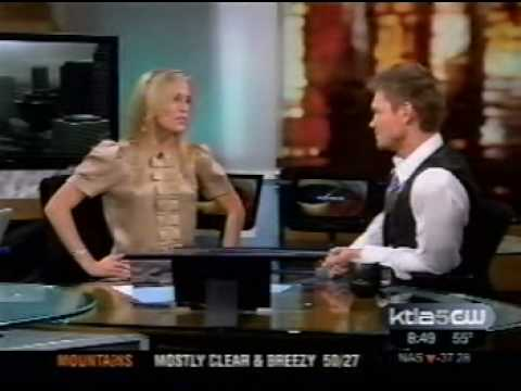 Chad Michael Murray One Tree Hill KTLA New interview with Jessica Holmes HQ Video