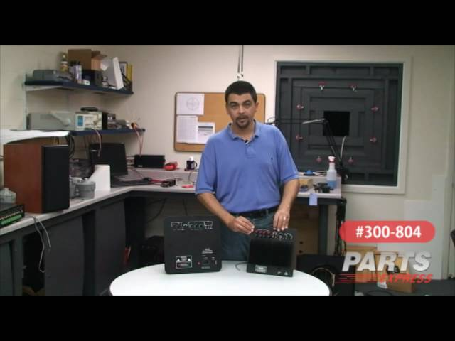 Common wiring of Dayton Audio Subwoofer/Speaker Plate Amplifiers