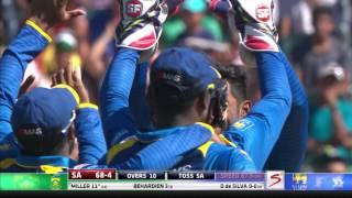 South Africa vs Sri Lanka - 2nd T20 -   SA Innings Highlights