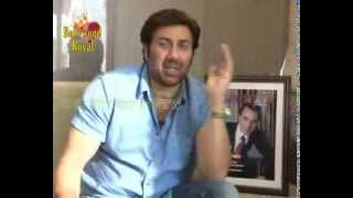 Interview of Sunny Deol for the film
