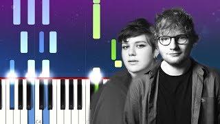 Ed Sheeran - Best Part Of Me ft YEBBA (Piano Tutorial)