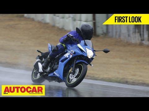 Suzuki Gixxer SF & GSX-RR   First Look   Autocar India
